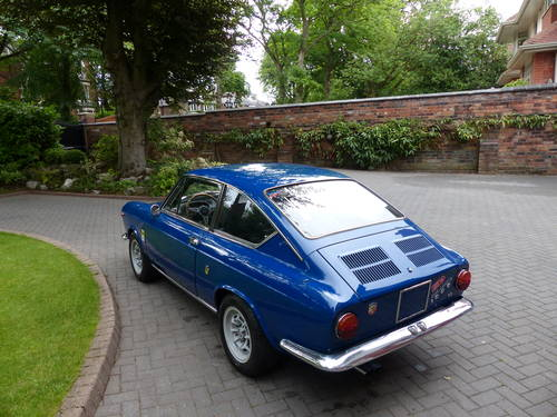 1966 Fiat Abarth 1000 OTS Coupe LHD £23,950 For Sale (picture 2 of 6)