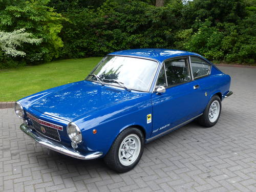 1966 Fiat Abarth 1000 OTS Coupe LHD £23,950 For Sale (picture 3 of 6)