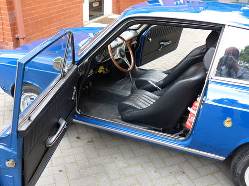 1966 Fiat Abarth 1000 OTS Coupe LHD £23,950 For Sale (picture 4 of 6)