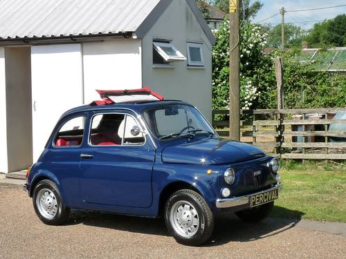 1972 Fiat 500, restored, 650cc SOLD (picture 1 of 6)
