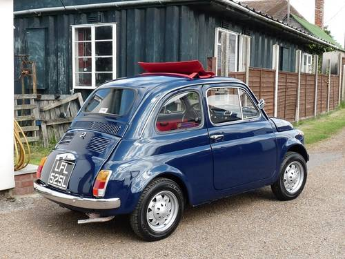 1972 Fiat 500, restored, 650cc SOLD (picture 2 of 6)
