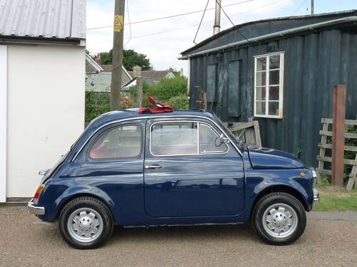 1972 Fiat 500, restored, 650cc SOLD (picture 5 of 6)