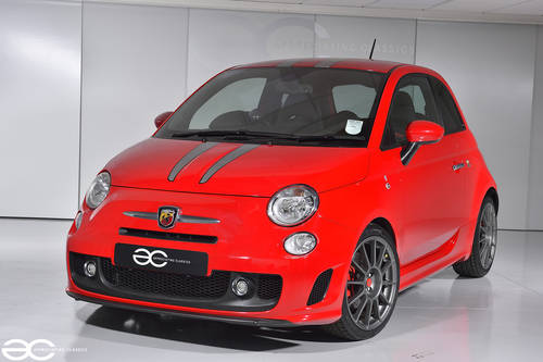 2009 Fiat 500 Abarth Ferrari Dealer Edition #197/200 - 18K Miles SOLD (picture 2 of 6)