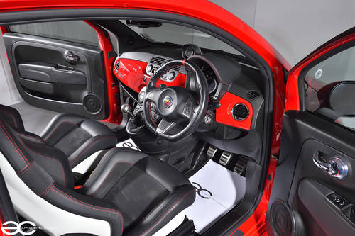 2009 Fiat 500 Abarth Ferrari Dealer Edition #197/200 - 18K Miles SOLD (picture 5 of 6)