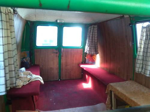 1979 Rare camper Fiat 238 panorama For Sale (picture 5 of 6)