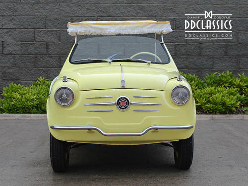 1962 Fiat 600 D Jolly (LHD) SOLD (picture 3 of 6)