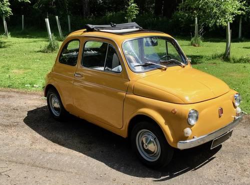 1970 Fiat 500L Lusso - Fantastic Condition - Recent Restoration SOLD (picture 1 of 6)