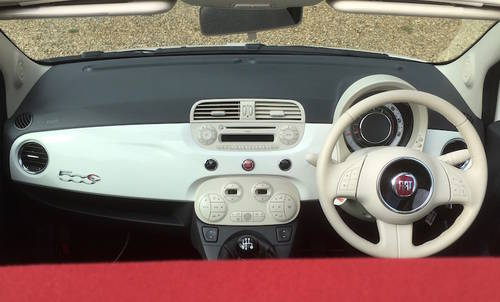 2013/63 FIAT 500C LOUNGE, 500 CONVERTIBLE - NEW PRICE SOLD (picture 2 of 6)