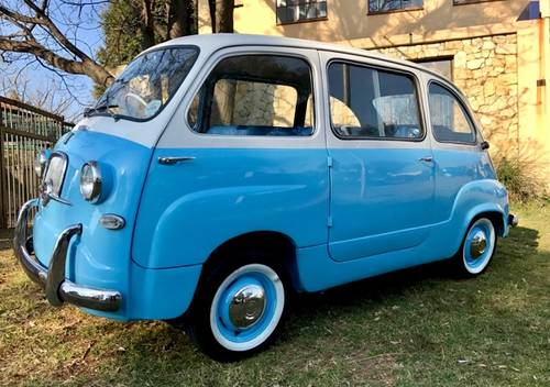 1958 Fiat Multipla 600 for SALE SOLD (picture 1 of 6)