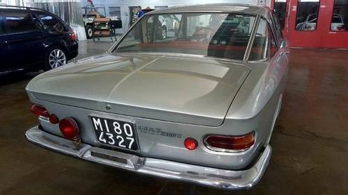 1963 Fiat 2300S Coupe with Abarth Upgrades For Sale (picture 3 of 6)