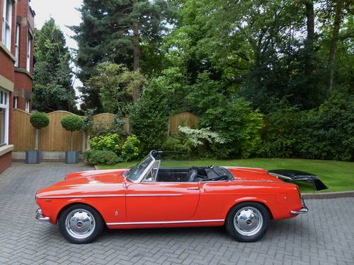 1964 Fiat OSCA 1600 S Spyder LHD £42,950 For Sale (picture 3 of 6)