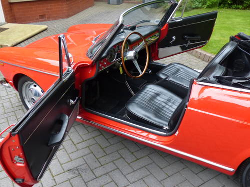 1964 Fiat OSCA 1600 S Spyder LHD £42,950 For Sale (picture 4 of 6)
