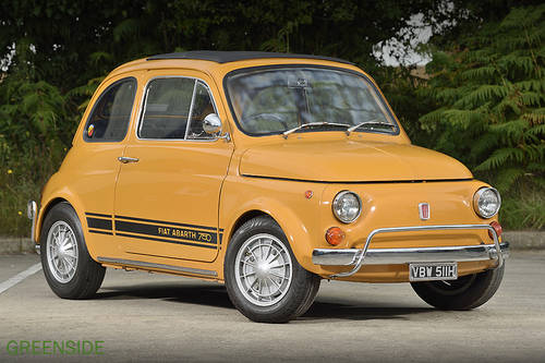 1969 UK rhd Fiat 750 Abarth Evocation SOLD (picture 1 of 6)