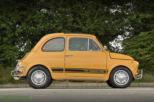 1969 UK rhd Fiat 750 Abarth Evocation SOLD (picture 2 of 6)