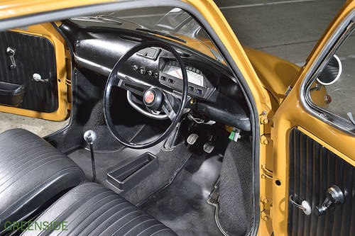 1969 UK rhd Fiat 750 Abarth Evocation SOLD (picture 3 of 6)