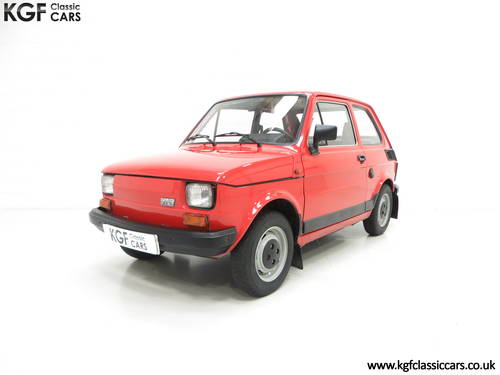 1990 An Original Polski-Fiat 126P Owned by Presenter Jonny Smith SOLD (picture 2 of 6)