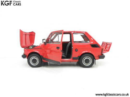 1990 An Original Polski-Fiat 126P Owned by Presenter Jonny Smith SOLD (picture 3 of 6)