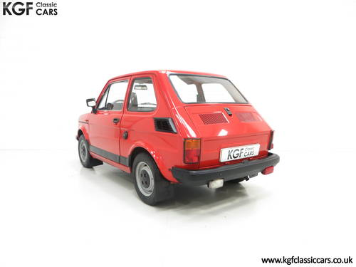 1990 An Original Polski-Fiat 126P Owned by Presenter Jonny Smith SOLD (picture 4 of 6)