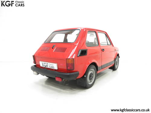 1990 An Original Polski-Fiat 126P Owned by Presenter Jonny Smith SOLD (picture 5 of 6)