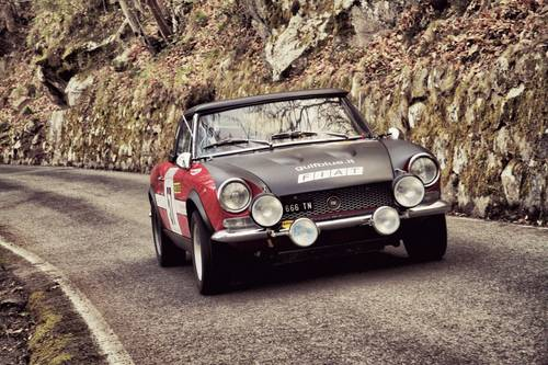 Fiat 124 Sport Spider 1.8, Rally, 1974, race car For Sale (picture 1 of 6)