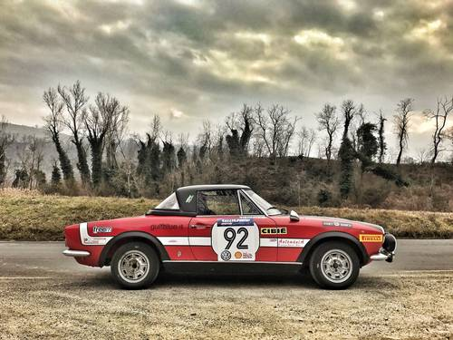 Fiat 124 Sport Spider 1.8, Rally, 1974, race car For Sale (picture 6 of 6)