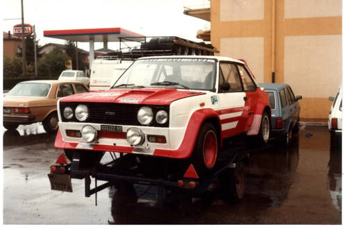 1976 Ex works Fiat 131 Abarth Gr4 For Sale (picture 1 of 6)