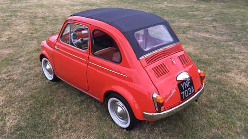 1963 Fiat 500D Trasformabile For Sale (picture 1 of 6)