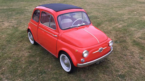 1963 Fiat 500D Trasformabile For Sale (picture 2 of 6)