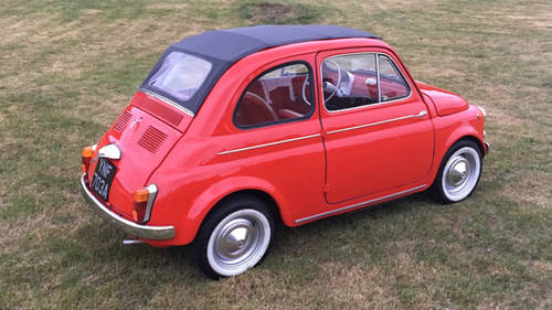 1963 Fiat 500D Trasformabile For Sale (picture 3 of 6)