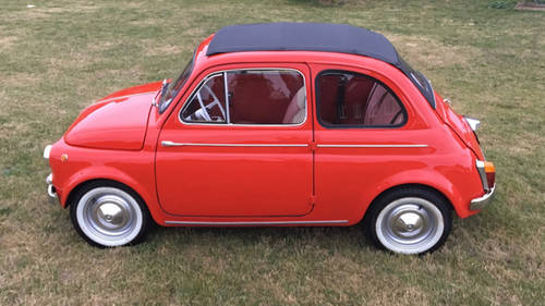 1963 Fiat 500D Trasformabile For Sale (picture 4 of 6)