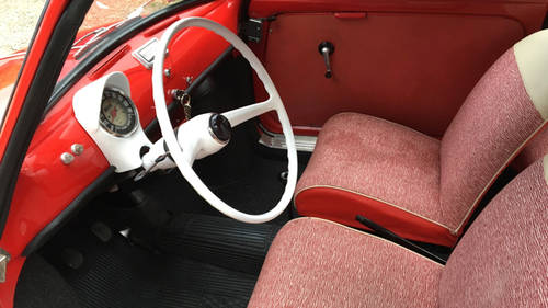 1963 Fiat 500D Trasformabile For Sale (picture 5 of 6)