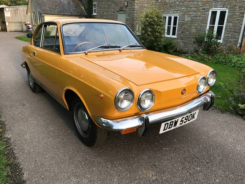 1971 Fiat 850 Coupe Fully restored, full history from new For Sale (picture 1 of 6)