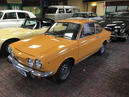 1971 Fiat 850 Coupe Fully restored, full history from new For Sale (picture 2 of 6)