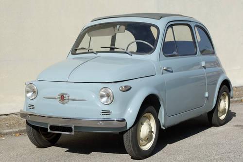 1957 Fiat 500 N First Edition Nuova 500 Vetri Fissi For Sale Car