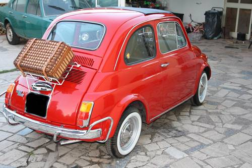 1972 FIAT 500 L (LUSSO) Red  SOLD (picture 2 of 6)