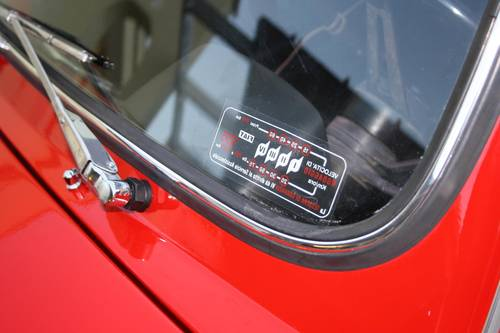 1972 FIAT 500 L (LUSSO) Red  SOLD (picture 3 of 6)