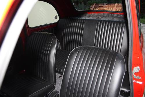 1972 FIAT 500 L (LUSSO) Red  SOLD (picture 6 of 6)