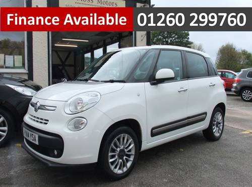 2014 FIAT 500L 1.6 MULTIJET LOUNGE 5DR, 5 Door MPV SOLD (picture 1 of 6)