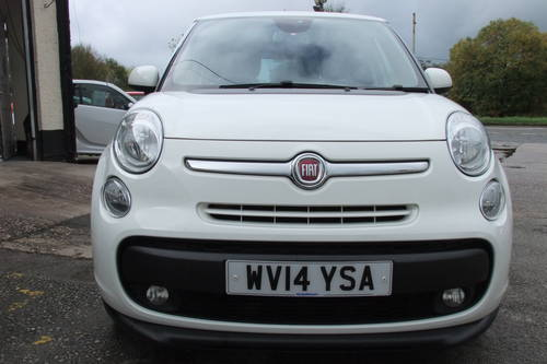 2014 FIAT 500L 1.6 MULTIJET LOUNGE 5DR, 5 Door MPV SOLD (picture 4 of 6)