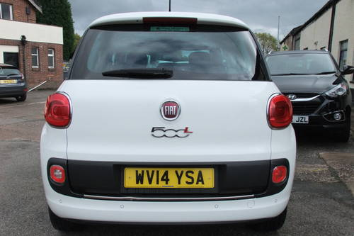 2014 FIAT 500L 1.6 MULTIJET LOUNGE 5DR, 5 Door MPV SOLD (picture 5 of 6)