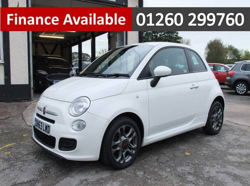 2013 FIAT 500 1.2 S 3DR SOLD (picture 1 of 6)