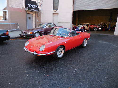 1967 Fiat 850 Spyder Nice Driver - SOLD (picture 3 of 6)