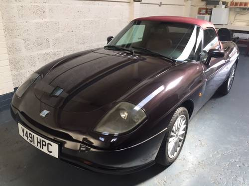 2002 Fiat Barchetta Maggiora very Rare black Cherry SOLD (picture 1 of 6)