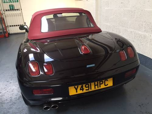 2002 Fiat Barchetta Maggiora very Rare black Cherry SOLD (picture 4 of 6)