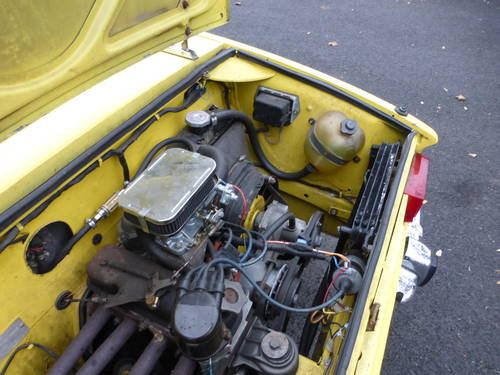 1969 Fiat 850 Spyder Nice Driver - SOLD (picture 6 of 6)