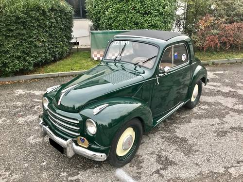 1953  Fiat - 500 C Topolino Trasformabile ASI GOLD CERT. SOLD (picture 1 of 6)