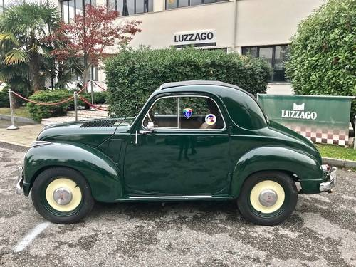 1953  Fiat - 500 C Topolino Trasformabile ASI GOLD CERT. SOLD (picture 2 of 6)