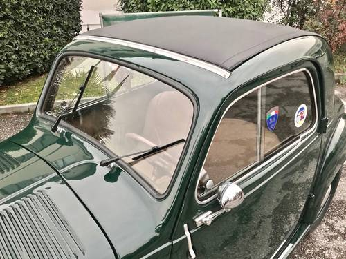 1953  Fiat - 500 C Topolino Trasformabile ASI GOLD CERT. SOLD (picture 5 of 6)