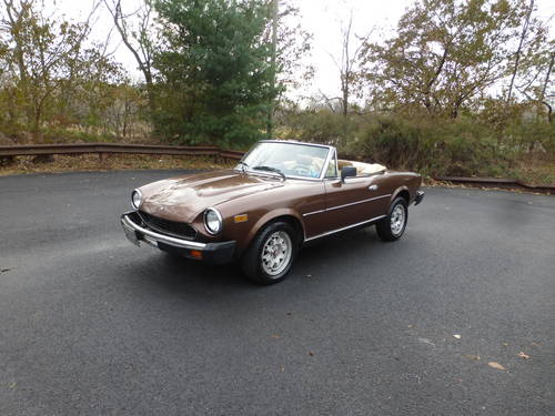 1982 Fiat 124 Sport Spyder 2000 Good Driver - SOLD (picture 3 of 6)