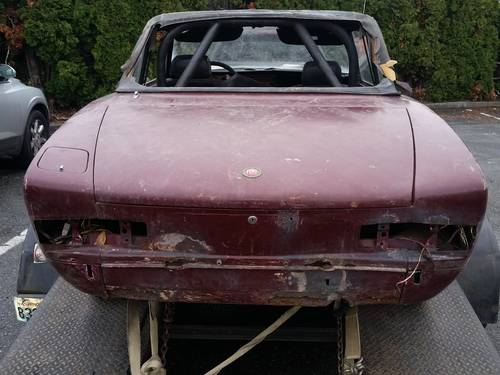 1972 Fiat 124 Spider Project Chrome Bumper For Sale (picture 3 of 3)